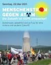 Banner: Menschenstrom gegen Atom