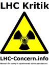 LHC Kritik / LHC-Concern.info Banner